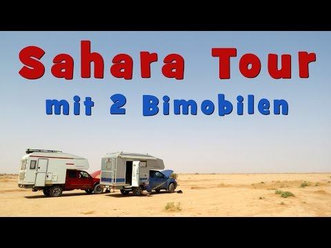 SAHARA TOUR: mit 2 Bimobilen über die Pisten   4x4   Allrad  