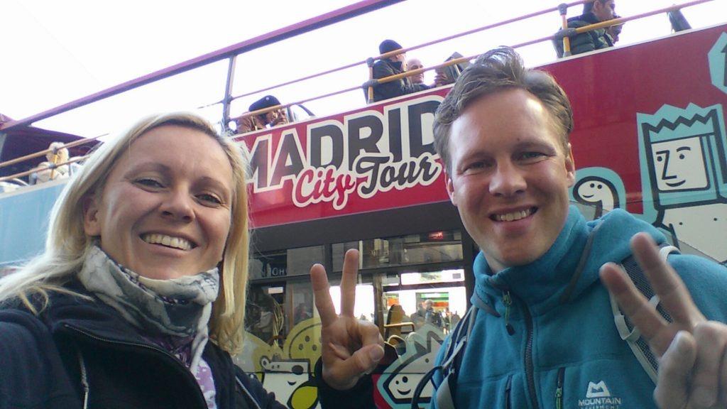 Eine Tour mit dem Touri-Bus machen wir aber trotzdem noch