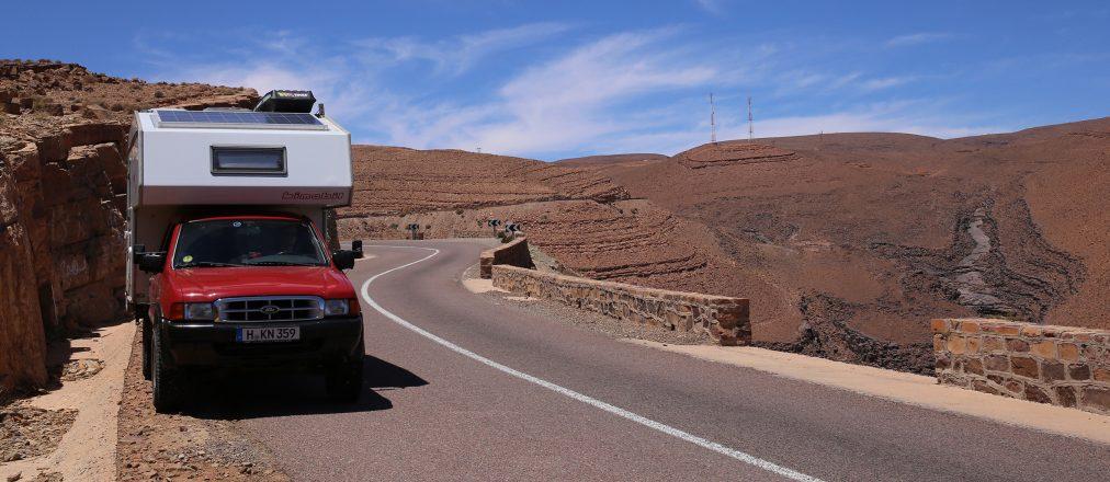 Mit Camper durch Marokko