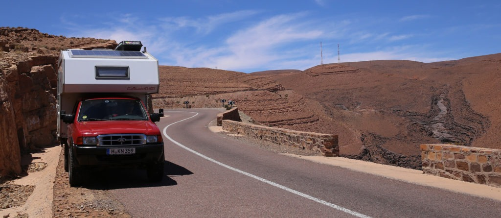Mit dem Camper durch Marokko (Video)