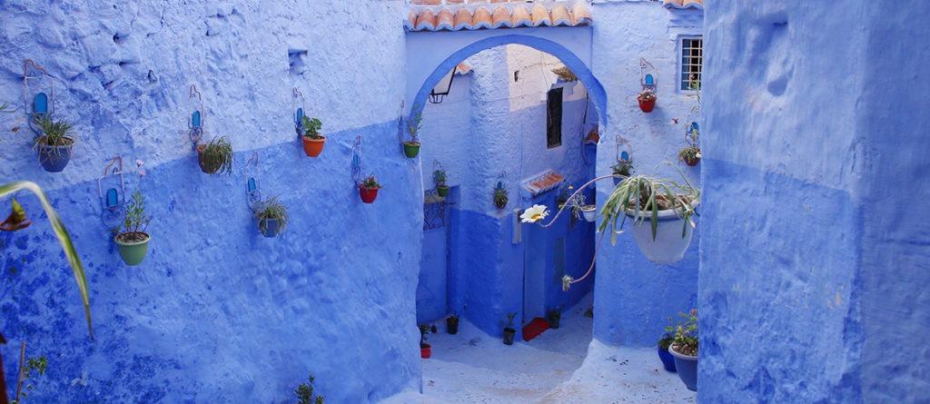 Chefchaouen die blaue Stadt (Foto-Slideshow)